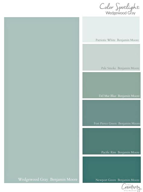 Benjamin Moore Wedgewood Gray Color Spotlight Benjamin