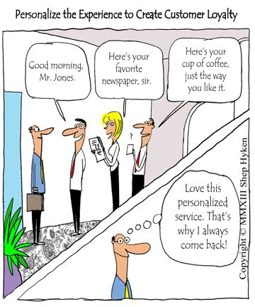 personalize customer service to create amazing customer