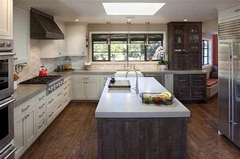 Distressed Kitchen Cabinets  Transitional  Kitchen