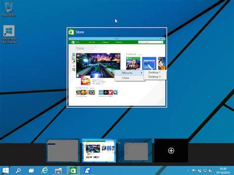 Windows 10  Comment Faire Pour Utiliser Plusieurs Bureaux