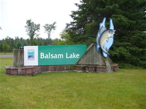 Balsam Lake Boat Launch by Balsam Lake Provincial Park Ontario State Provincial