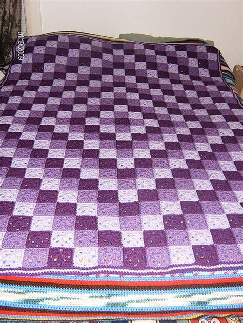 patchwork crochet  pattern diamond design crochet
