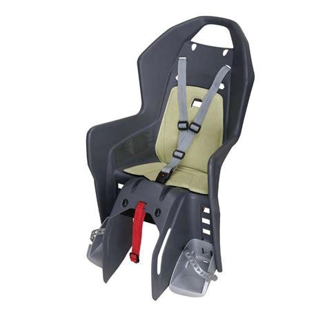 montage siege bebe velo siège vélo enfant koolah sur porte bagages decathlon