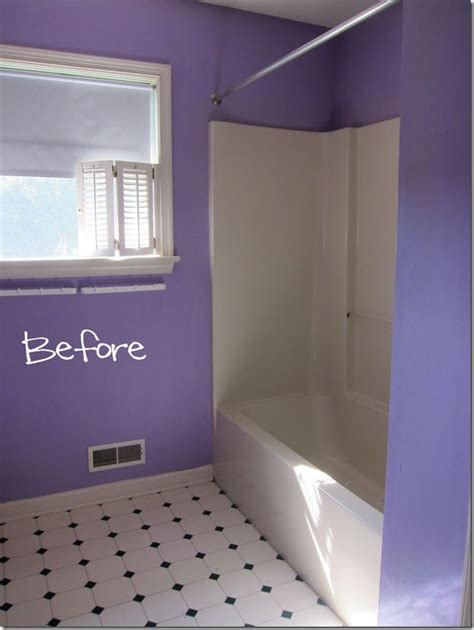 wrap around curtain rod bathroom makeover how to add decorative molding to a