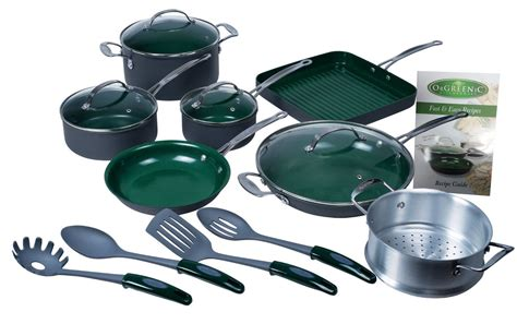orgreenic  stick cookware review ceramic  pc cookware