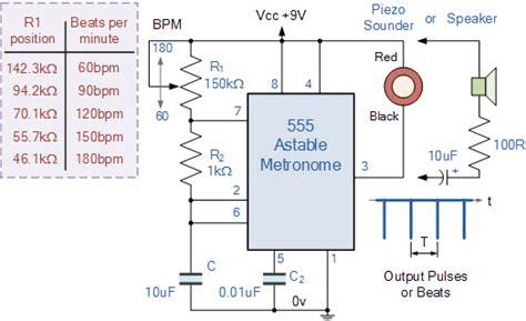 Oscillator Tutorial The Astable Multivibrator