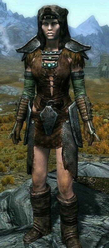 Huntress By Sage Ancient Nord Armor And Boots Stormcloak