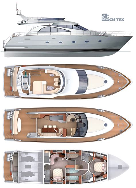 Yacht Plans by Motor Yacht Drawings