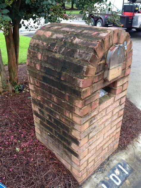 brick mailbox  brick mailbox pressure washing
