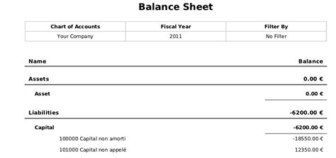 general ledger  trial balance openerp  accounting