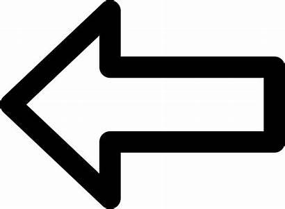 Arrow Left Icon Svg Onlinewebfonts