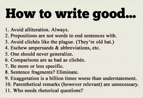 tips for writing an effective tips for writing good wake forest university