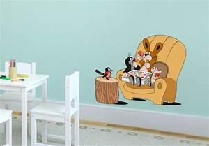 Leuchtsterne Für Kinderzimmer : wandtattoo maulwurf pralinenschmaus niedliche deko f r das kinderzimmer wall ~ Watch28wear.com Haus und Dekorationen