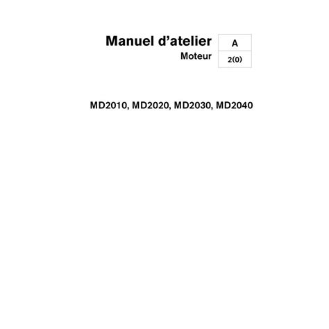 Volvo Penta 2020 Manual by Manuel Volvo Penta Diesel 2010 2020 2030 2040 A B Et C