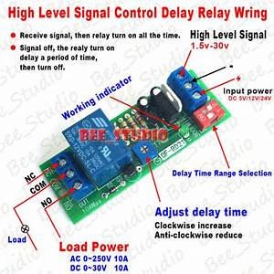 Dc 5v 12v 24v Timing Timer Signal Control Relay Switch
