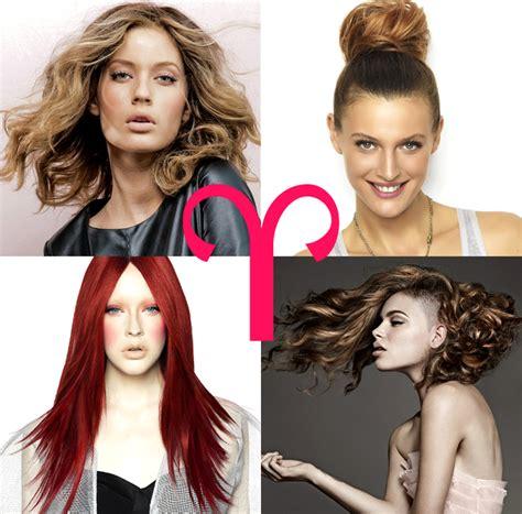 hair zodiac hairstyles  colors  horoscope