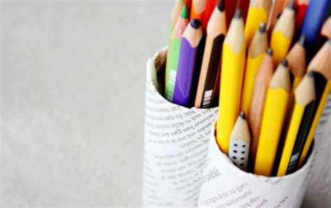 diy ideas    pencil holders