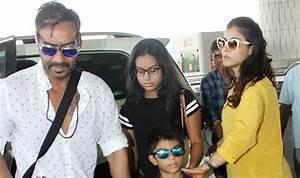 Ajay Devgn-Kajol And Kids Head To Goa For A Mini Family ...