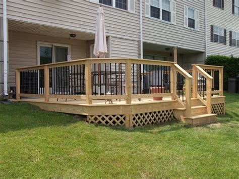 deck railing deck railing and spindles vinyl and wood deck rails