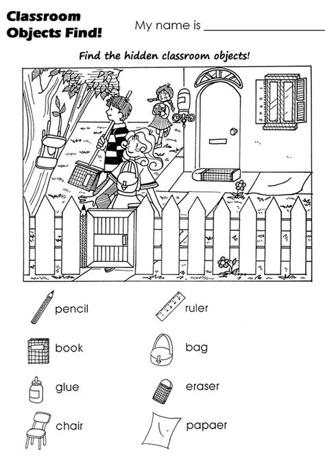 free pictures worksheets activity shelter