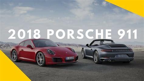 2018 Porsche 911 Luxury Sports Cars