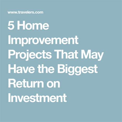 home improvement projects     biggest