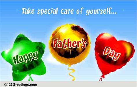 flying balloons  fathers day  happy fathers day ecards