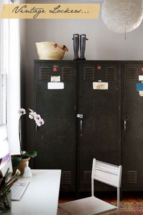 turn vintage metals into beautiful storage solutions the