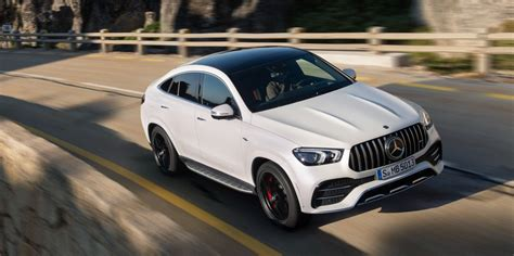 """Gallery of 62 high resolution images and press release information. 2021 Mercedes-AMG GLE """"Coupe"""" Is Portly but Powerful"""