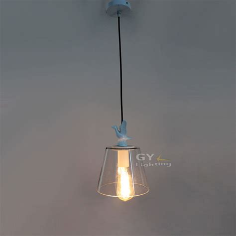 fashional modern glass pendant light retro vintage edison