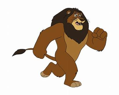 Animated Lion Animation Running Clipart Dog Gifs