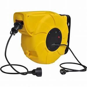 Enrouleur Electrique Automatique : vidaxl enrouleur lectrique automatique 24 1 m avec poi ~ Edinachiropracticcenter.com Idées de Décoration
