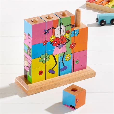 Otroška lesena sestavljanka - Založba UNSU