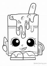 Soup Alpha Coloring Shopkins Printable sketch template