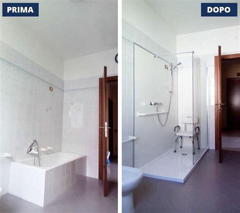 cambio vasca da bagno in doccia foto sostituzione vasca con doccia