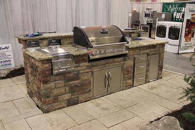 unilock grill island napoleon built in grill boral bucks county limestone