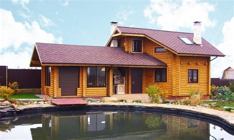 log cabin kits log cabin  classic design  rounded logs glued laminated timber dried
