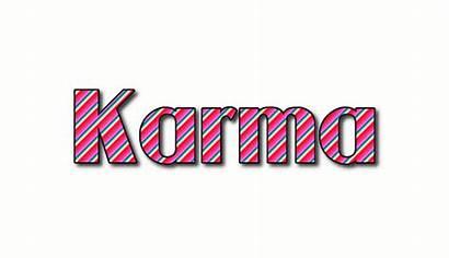 Karma Kamari Kasera Logos Text Flamingtext Stripes