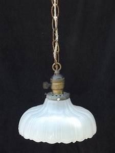 antique 1910 vintage ceiling fixture pendant light white