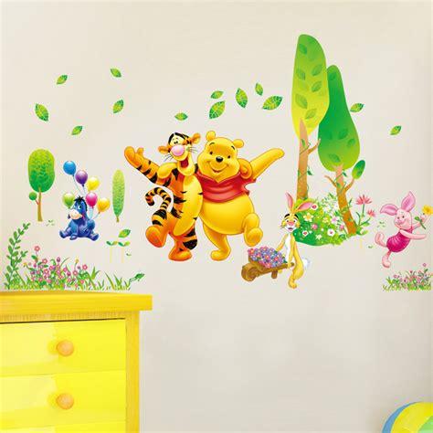 stickers chambre bébé pas cher stickers winnie pas cher d tree butterfly wall