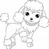 Coloring Poodle Pages Dog Printable Colouring Puppy Puppies Dogs Sheets Drawing Poodles Buzzle Adult Template Cartoon Breeds Few Books sketch template