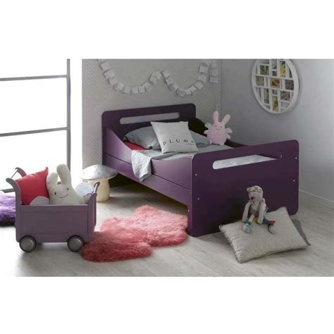 Extendable Toddler Bed by Feroe Extendable Toddler Bed Frame Purple 140 190cm Buy