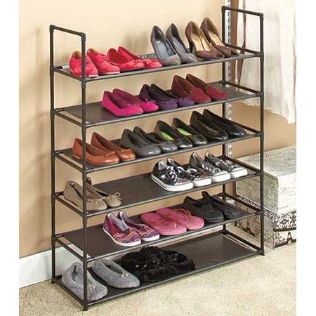 walmart shoe rack 6 tier storage shoe rack walmart