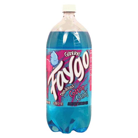 Faygo cotton candy flavored soda 2L   Soda Pop   Beverage   Shop By Aisle