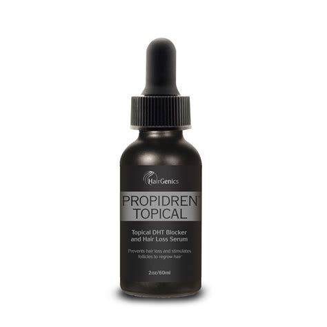 Amazon.com : Propidren by HairGenics - DHT Blocker & Hair