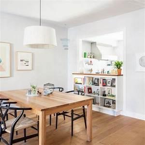 une cuisine semi ouverte avec un passe plat salons With ouverture cuisine sur salon