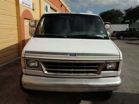 1996 Ford E 250 by Buy Used 1996 Ford E 250 Econoline Base Standard Cargo
