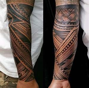 Tattoos Männer Unterarm : 90 samoaner tattoo designs f r m nner tribal ink ideen ~ Frokenaadalensverden.com Haus und Dekorationen