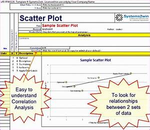 6 Excel Scatter Plot Template - Excel Templates