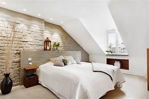 Dachschrägen Tapezieren Beispiele : wandgestaltung schlafzimmer dachschr ge ~ Eleganceandgraceweddings.com Haus und Dekorationen